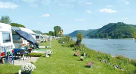 Camping und Reisemobile am Rhein in  Bad Hönningen